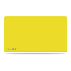 Artist Gallery Solid Yellow Play Mat