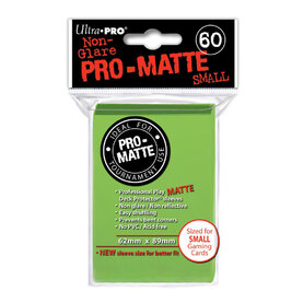 Pro-Matte Lime Green Small Deck Protectors