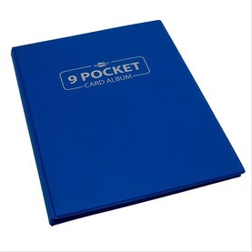 Blackfire 9 Pocket Card Album - Blue