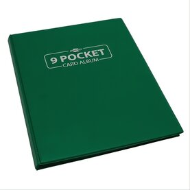 Blackfire 9 Pocket Card Album - Green