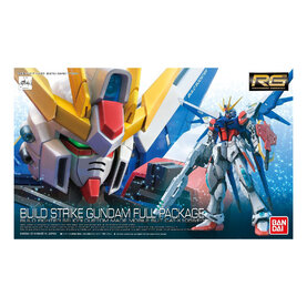 RG GAT-X105B FP Build Strike Gundam Full Package 1/144