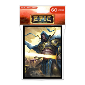 Legion - Matte Sleeves - EPIC - Knight of Shadows (60 Sleeves)