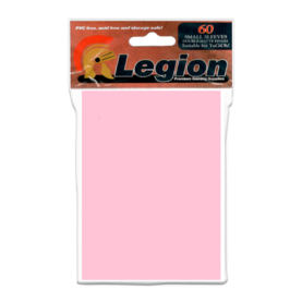 Legion - YGO Sleeves - Double Matte Pink (60 Sleeves)