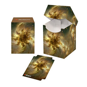 PRO 100 + Deck Box - Magic: The Gathering Celestial Plains