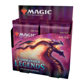 Commander Legends Collector Booster Display (12 Packs)
