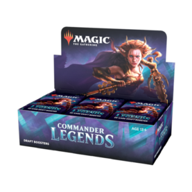 Commander Legends Draft Booster Display (24 Packs)