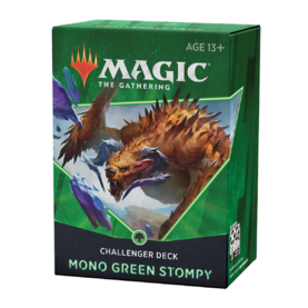Challenger Deck 2021: Mono Green Stompy