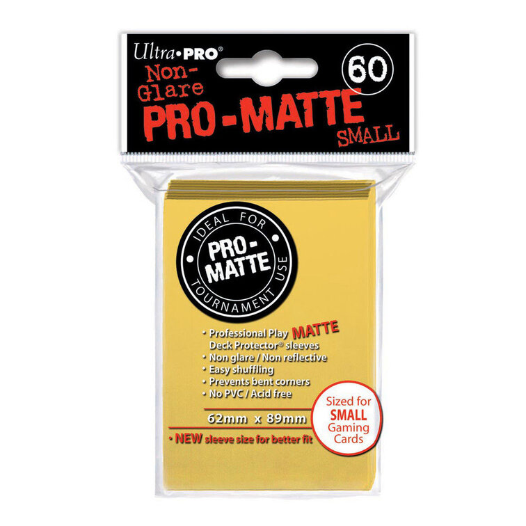 Pro-Matte Yellow Small Deck Protectors