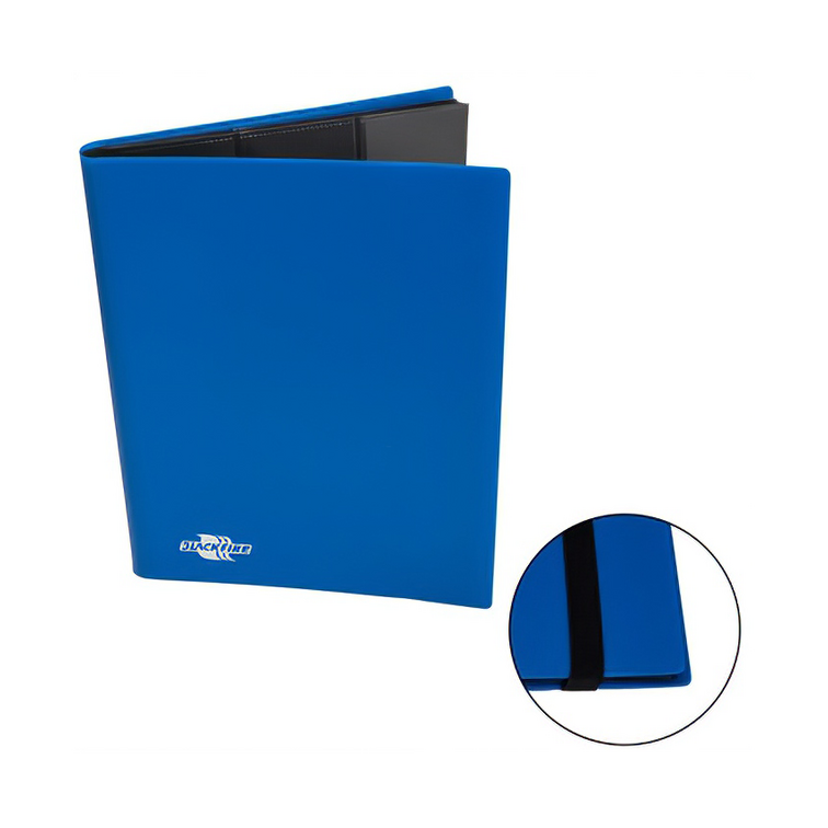 Blackfire Flexible Album - 9 Pocket - Blue