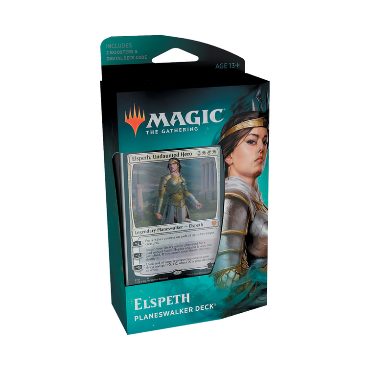 Elspeth , Undaunted Hero Planeswalker Deck