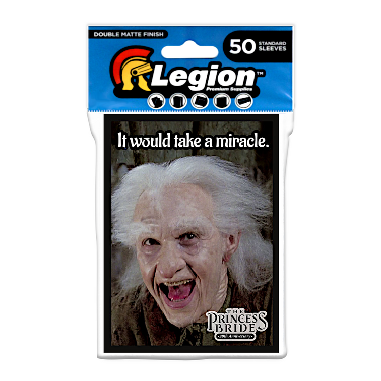 Legion - Double Matte Sleeves - Princess Bride: Miracle (50 Sleeves)