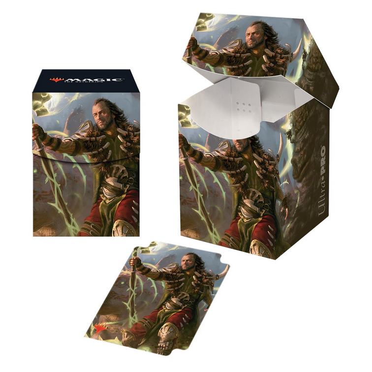 PRO 100+ Deck Box Magic: The Gathering Commander 2019 V4