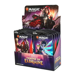 Throne Of Eldraine Theme Booster Box
