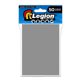 Legion - Matte Sleeves - Silver Double Matte Sleeves (50 Sleeves)