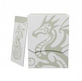 Dragon Shield Deck Shell - White/Black